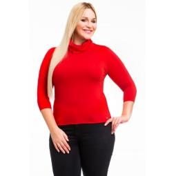 фото Водолазка Mondigo XL 211. Цвет: красный. Размер одежды: 52