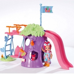 фото Набор игровой для девочки Zapf Creation «Мини-лисичка. Игровая площадка с куклой»