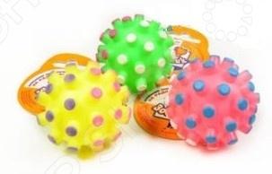 Игрушка для собак ЗООНИК «Мяч-мина». В ассортименте трикси игрушка для собак щенок 8 см латекс цвет в ассортименте