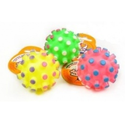 фото Игрушка для собак ЗООНИК «Мяч-мина». В ассортименте. Диаметр: 6,5 см