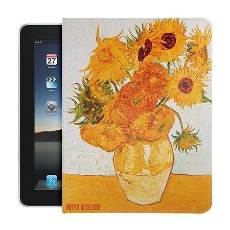Купить Чехол для iPad Mitya Veselkov «Подсолнухи Ван Гога»