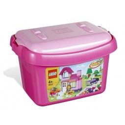 фото Конструктор LEGO Розовая коробка с кубиками 64441