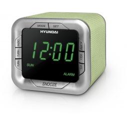 фото Радиобудильник Hyundai H-1505. Цвет: зеленый