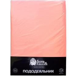 фото Пододеяльник Сова и Жаворонок Premium. Цвет: светло-розовый. Размер пододеяльника: 143х216 см