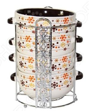 Набор супниц Loraine LR-23124Суповые тарелки<br>Набор супниц Loraine LR-23124 - стильный и качественный набор, который станет отличным подарком для настоящих кулинаров. Каждой хозяйке известно, что посуда должна быть не только красивая, но и функциональная. Набор выполнен из качественной керамики - материала экологически чистого, а значит абсолютно безопасного. В керамической посуде блюда сохраняют свои вкусовые качества, кроме того она обладает термической и химической прочностью. Благодаря оригинальному дизайну, такие супницы отлично подойдут как для ежедневного использования, так и для праздничной сервировки стола. Супницу можно мыть как в ручную, так и в посудомоечной машине.<br>