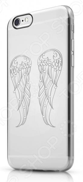 Чехол для iPhone 6 ITSKINS Bling-BLG3Защитные чехлы для iPhone<br>Чехол для iPhone 6 ITSKINS Bling-BLG3 надежно защитит ваш смартфон при повседневном использовании от грязи, пыли, царапин и потертостей. Представленная модель выполнена в виде полупрозрачной защитной накладки, плотно прилегающей к боковым граням дорогостоящего девайса. Накладка настолько легка, что сами производители называют ее второй кожей . Чехол изготовлен из качественных материалов и украшен дизайнерским рисунком, что придает ему стильный и модный вид. Изделие не блокирует какие-либо разъемы устройства, а потому не препятствует комфортному использованию. ITSKINS Bling-BLG3 придаст телефону уникальный вид и подчеркнет вашу индивидуальность.<br>