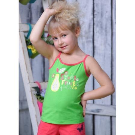 Купить Майка для девочек Detiland SS15-UBL-GTP-964. Цвет: зеленый
