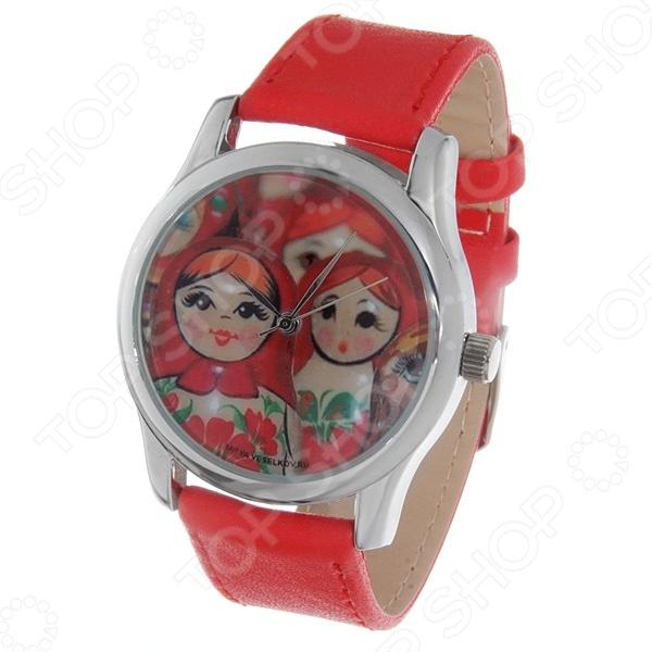 Часы наручные Mitya Veselkov «Матрешки» Color часы наручные mitya veselkov райский сад color