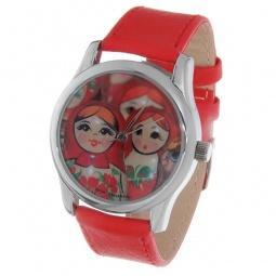 Купить Часы наручные Mitya Veselkov «Матрешки» Color