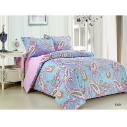 фото Комплект постельного белья Jardin Kalet. 2-спальный. Размер наволочки: 70х70 см — 2 шт. без оборки