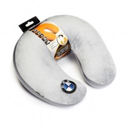 фото Подушка-подголовник Pit stop «BMW». Цвет: серый