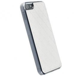 фото Накладка Krusell Avenyn Mobile UnderCover для iPhone 4. Цвет: белый