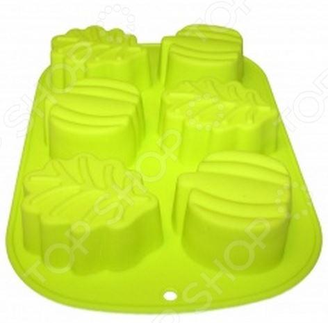 Формочки для выпекания Bradex TK 0108 кухонная принадлежность bradex держатель чайных пакетиков и ложки кролик pink tk 0234