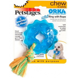 фото Игрушка для собак Petstages Mini ОРКА «Кольцо с канатом»