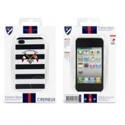 фото Чехол и пленка на экран Muvit Cremieux Riviera Graphix Back для iPhone 4S