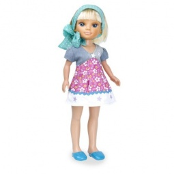 фото Кукла Famosa Нэнси «Блондинка в голубом платочке»