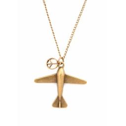 Купить Кулон Mitya Veselkov «Миролюбивый самолет»