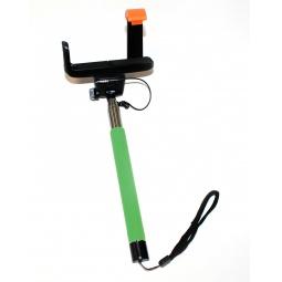 фото Монопод телескопический для селфи Bradex TD. Цвет: зеленый