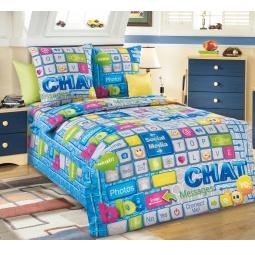 фото Комплект постельного белья Белиссимо «Чат». 1,5-спальный