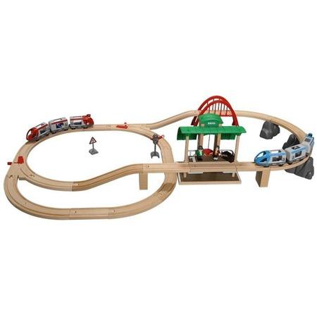 Купить Железная дорога с вокзалом Brio 33512
