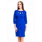 Фото Платье Mondigo 5196. Цвет: синий. Размер одежды: 44