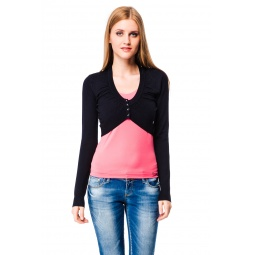 фото Болеро Mondigo 9463. Цвет: черный. Размер одежды: 46
