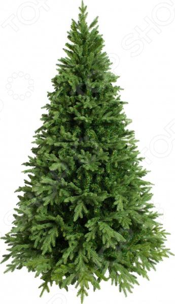 Зимние праздники самые любимые и долгожданные и это не удивительно! Ведь Рождество и Новый Год это всегда ожидание чего-то невероятного, сказочного и волшебного! Для каждого, праздник представляется по своему: кто-то любит его отмечать дома за праздничным столом в кругу семьи, для кого-то это замечательный повод устроить веселый костюмированный карнавал, кто-то и вовсе предпочитает отправиться в заснеженные дали, отмечать праздник в гостях у самого Деда Мороза! Однако, где бы и как бы вы не отмечали зимние праздники, для создания по-настоящему праздничной и сказочной атмосферы очень важно уделить особое внимание украшению и оформлению интерьера. Яркие елочные шары, свечи и разноцветные огни гирлянд и конечно празднично украшенная елка все это поможет воссоздать атмосферу настоящей новогодней сказки. Ель искусственная Crystal Trees Этна - станет главным праздничным украшением. Такая красавица не сможет остаться незамеченной. Искусственная ель создаст праздничное настроение в любом интерьере. Дополните сказочную красавицу рождественскими композициями, венками, свечами, гирляндами и конечно, не забудьте положить подарки под елку для самых близких в праздничную ночь! Силуэт елки конусообразный, ветки до пола. Наружу выступают отростки из РЕ-резины. Отростки из мягкой хвои расположили внутри кроны для придания кроне пышности.