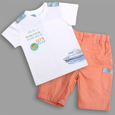 Купить Комплект: футболка и шорты WWW Let's Go