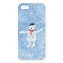фото Чехол для iPhone 5 Mitya Veselkov «Снеговик»