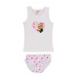 Купить Комплект нижнего белья для девочки: майка и трусы Minions. I Only Have EyeS 4U
