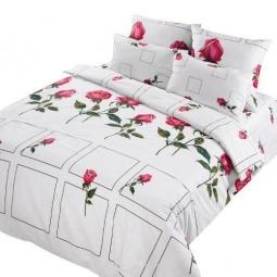 фото Комплект постельного белья Нежность «Арабелла». 1,5-спальный. Размер наволочки: 50х70 см — 2 шт