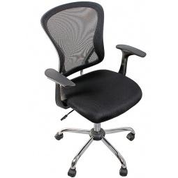 фото Кресло офисное College H-8369F. Цвет: черный