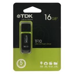 фото Флешка TDK TF10 Black 16GB 2.0 USB Flash Drive