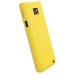 фото Чехол для Krusell ColorCover для Samsung I9100 Galaxy S II. Цвет: желтый