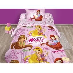 Купить Детский комплект постельного белья Winx Friends Are Magic