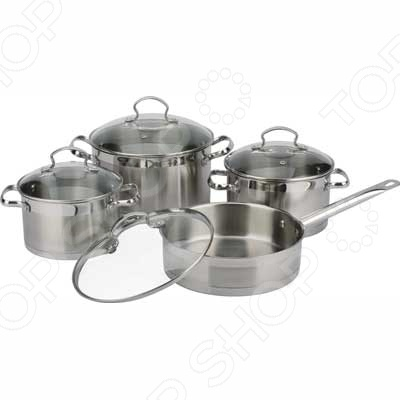 Набор посуды Bekker BK-2574 набор кастрюль bekker bk 2574 premium