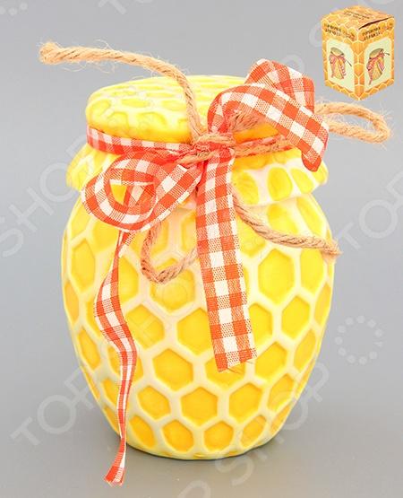 фото Горшочек для меда Elan Gallery «Соты», Банки для мёда. Розетки