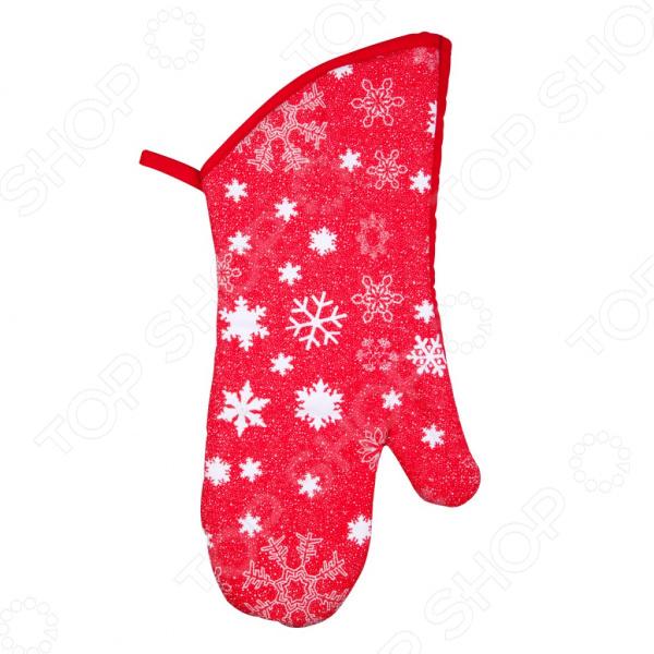 Прихватка-варежка Miolla HF412468Кухонные полотенца. Прихватки<br>Кухня или столовая место, где всегда тепло и уютно, вкусно и аппетитно пахнет. Немалая доля уюта зависит от окружающего вас текстиля. Именно полотенца, скатерти, салфетки и другой интерьерный текстиль создают удивительную атмосферу комфорта. Стильная и элегантная рукавица имеет не только строго функциональное предназначение, но также может послужить украшением вашей кухни. Стильная и надежная защита для ваших рук. Прихватка-варежка Miolla HF412468 незаменимый атрибут любой хозяйки, без которого невозможно представить ни одну современную кухню. Стильная и элегантная рукавица создана не только для украшения вашей кухни, она имеет и строго функциональное предназначение. Она послужит надежной защитой ваших рук от горячих кастрюль, сковородок и блюд. С её помощью вы без труда достанете противень или форму из раскаленной духовки!  Рукавица выполнена из натуральной хлопковой ткани, которая отличается простотой в уходе. Изделие также обладает рядом других преимуществ:  прочная хлопковая ткань устойчива к бытовому износу;  плотная рукавица легко выдерживает высокие температуры, поэтому ваши руки не пострадают;  удобная и практичная форма позволяет легко обращаться даже с небольшими предметами;  качественная прошивка не позволит рукавице расползтись со временем;  красочный и яркий принт будет радовать вас своими насыщенными цветами долгое время. Перед первым использованием рукавицу рекомендуется выстирать при температуре не более 30 С.<br>