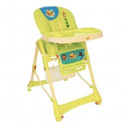 фото Стул для кормления Baby Hit комфортный. Цвет: зеленый
