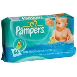 Купить Салфетки влажные для детей Pampers Baby Fresh Алоэ