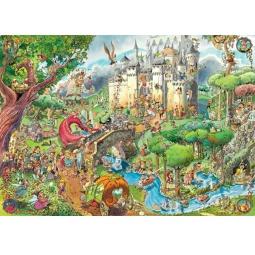 Купить Пазл 1500 элементов Heye «Сказки» Hugo Prades