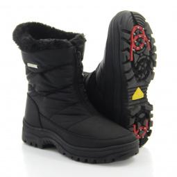 Полусапоги женские Walkmaxx Антилёд. Цвет: черный