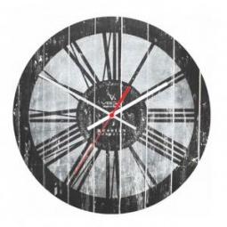 фото Часы настенные Вега А 1-23 «Состаренная серая классика»