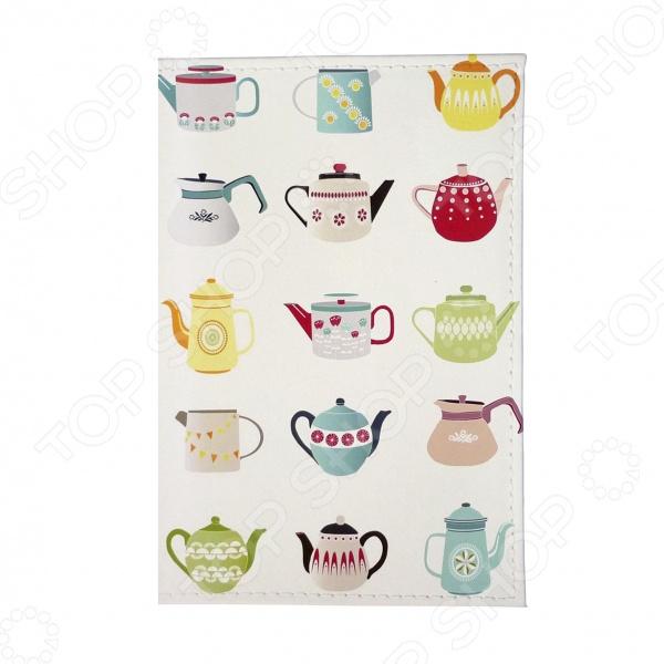 Обложка для паспорта Mitya Veselkov «Заварные чайники»