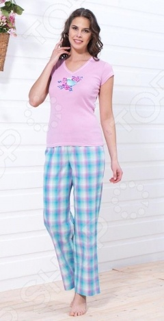 Пижама женская BlackSpade 5596 пижама из майки и шортов из модала и кружева romy