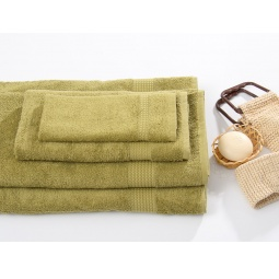 фото Полотенце TAC Touchsoft 0912. Цвет: темно-зеленый