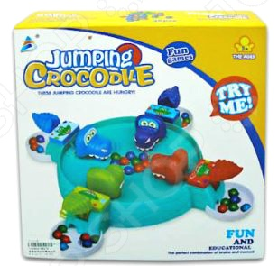 Игра настольная Shantou Gepai «Зообильярд. Крокодильчики» настольные игры shantou gepai настольная игра палочки и шарики