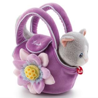 Купить Мягкая игрушка Trudi Котёнок в сумочке