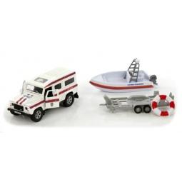 фото Модель коллекционная Пламенный Мотор Land Rover «МЧС. Служба спасения»