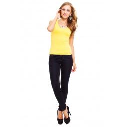 фото Футболка Mondigo 7001. Цвет: желтый. Размер одежды: 44